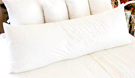 Down Alternative Pregnancy Body Pillow - Every Day / Maternity Use - Click to enlarge