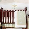 Dragonfly Dreams Green Baby Bedding - 11pc Crib Set