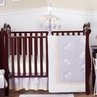 Dragonfly Dreams Lavender Baby Bedding - 11pc Crib Set