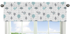 Earth and Sky Collection Window Valance by Sweet Jojo Designs