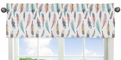 Feather Collection Window Valance by Sweet Jojo Designs
