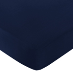 Fitted Crib Sheet for Anchors Away Baby/Toddler Bedding by Sweet Jojo Designs - Navy