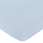 Fitted Crib Sheet for Avery Baby/Toddler Bedding by Sweet Jojo Designs - Blue