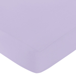 Fitted Crib Sheet for Elizabeth Baby/Toddler Bedding by Sweet Jojo Designs - Lavender