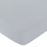Fitted Crib Sheet for Gray and White Chevron Baby/Toddler Bedding by Sweet Jojo Designs - Gray