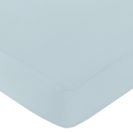 Fitted Crib Sheet for Hayden Baby/Toddler Bedding by Sweet Jojo Designs - Blue