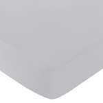 Fitted Crib Sheet for Mod Garden Baby/Toddler Bedding by Sweet Jojo Designs - Gray