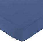 Fitted Crib Sheet for Space Galaxy Baby/Toddler Bedding by Sweet Jojo Designs - Light Blue