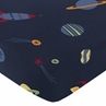 Fitted Crib Sheet for Space Galaxy Baby/Toddler Bedding by Sweet Jojo Designs - Print