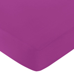 Fitted Crib Sheet for Spring Garden Baby/Toddler Bedding by Sweet Jojo Designs - Purple