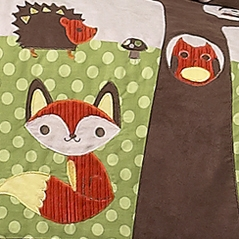 Forest Bedding for Kids