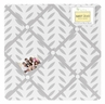 Fabric Memory/Memo Photo Bulletin Board for Forest Deer and Dandelion Collection by Sweet Jojo Designs