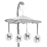 Musical Baby Crib Mobile for Forest Deer and Dandelion Collection by Sweet Jojo Designs