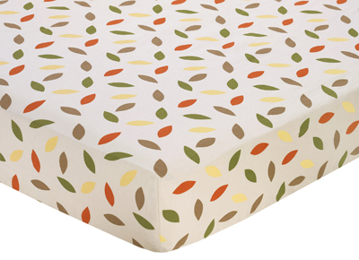 Forest Friends Fitted Crib Sheet For Baby Toddler Bedding