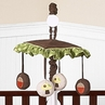 Forest Friends Musical Baby Crib Mobile by Sweet Jojo Designs