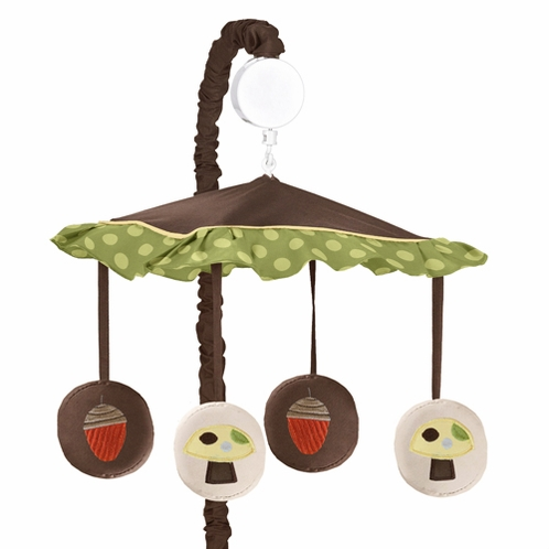 Forest Friends Musical Baby Crib Mobile By Sweet Jojo
