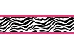 Funky Zebra Baby, Kids and Teens Wall Paper Border by Swe...