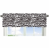 Funky Zebra Collection Window Valance by Sweet Jojo Designs