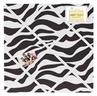 Funky Zebra Fabric Memory/Memo Photo Bulletin Board by Sweet Jojo Designs