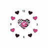 Funky Zebra Kids and Baby DIY Clock with Stickers by Sweet Jojo Designs