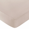 Giraffe Fitted Crib Sheet for Baby/Toddler Bedding by Sweet Jojo Designs - Taupe