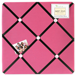 Girls Soccer Fabric Memory/Memo Photo Bulletin Board