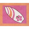 Girls Tropical Hawaiian Accent Floor Rug for Sweet Jojo Designs Surf Bedding