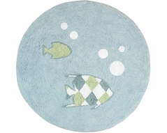 Go Fish Accent Floor Rug