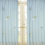 Go Fish Window Treatment Panels - Set of 2
