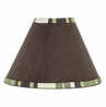 Green and Brown Ethan Modern Lamp Shade by Sweet Jojo Designs