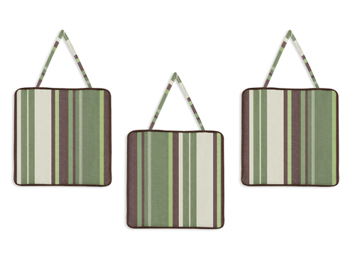 Green and Brown Ethan Modern Wall Hanging Accessories by ...