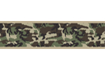 Green Camo Army Camoflauge Baby, Kids and Teens Wall Paper Border by Sweet Jojo Designs