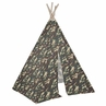 Green Camo Army Military Boys Indoor TeePee for Toddler and Kids