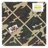 Green Camo Fabric Memory/Memo Photo Bulletin Board