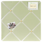 Green Dragonfly Dreams Fabric Memory/Memo Photo Bulletin Board