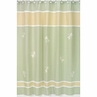 Green Dragonfly Dreams Kids Bathroom Fabric Bath Shower Curtain