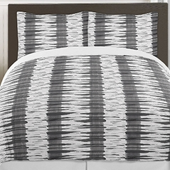 Grey and White Metro 3pc Teen Full / Queen Bedding Set Collection by Sweet Jojo Designs