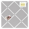 Grey Fabric Memory/Memo Photo Bulletin Board by Sweet Jojo Designs