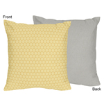 Honey Bee Decorative Accent Throw Pillow by Sweet Jojo Designs