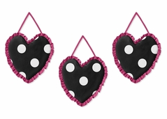 Hot Dot Modern Wall Hanging Accessories by Sweet Jojo Designs