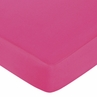 Hot Pink, Black and White Isabella Fitted Crib Sheet for Baby/Toddler Bedding Sets - Hot Pink