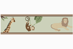 Jungle Adventure Baby and Childrens Animal Wall Border by Sweet Jojo Designs