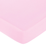 Jungle Friends Fitted Crib Sheet for Baby/Toddler Bedding Sets - Pink