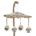 Safari Outback Jungle Musical Baby Crib Mobile by Sweet Jojo Designs
