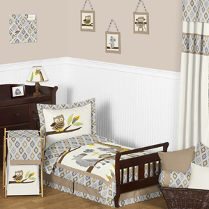 Safari Outback Jungle Toddler Bedding - 5pc Set by Sweet ...