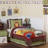 Jungle Time Children & Kids Bedding - 3 pc Full / Queen Set