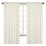 Jungle Time Collection Window Treatment Panels by Sweet Jojo Designs - Set of 2