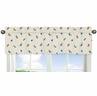 Animal Print Window Valance for Jungle Time Collection by Sweet Jojo Designs