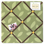Jungle Time Fabric Memory/Memo Photo Bulletin Board