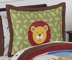 Jungle Time Pillow Sham